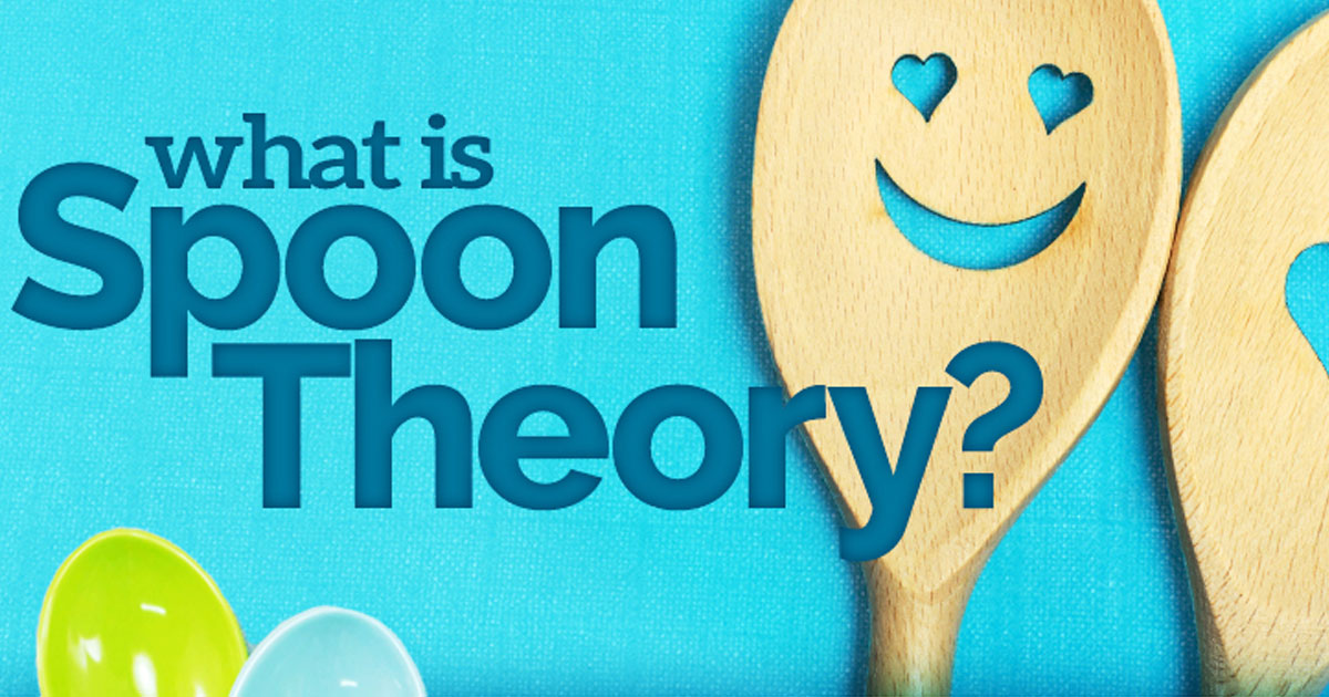 New Life Outlook -  Infographic: What Is the Spoon Theory?