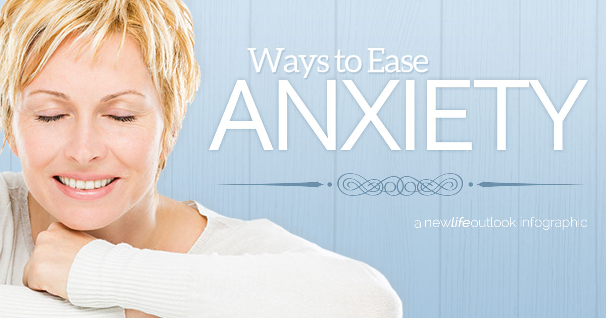 fibromyalgia and anxiety infographic: New Life Outlook Fibromyalgia Infographic