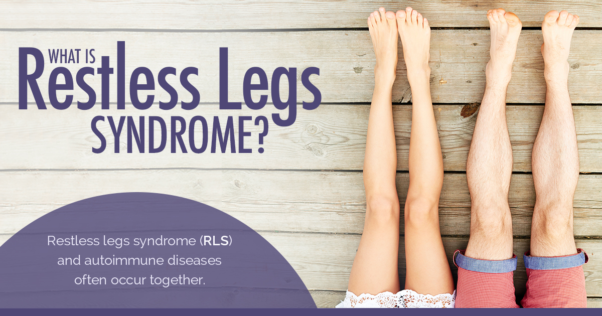 Fibromyalgia Infographic - Fibromyalgia and Restless Legs Syndrome
