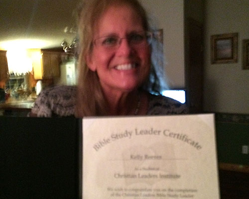 Bible Study Leader Certificate