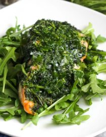 [Recipe] An Antioxidant Rich Baked Salmon With Oil and Herbs